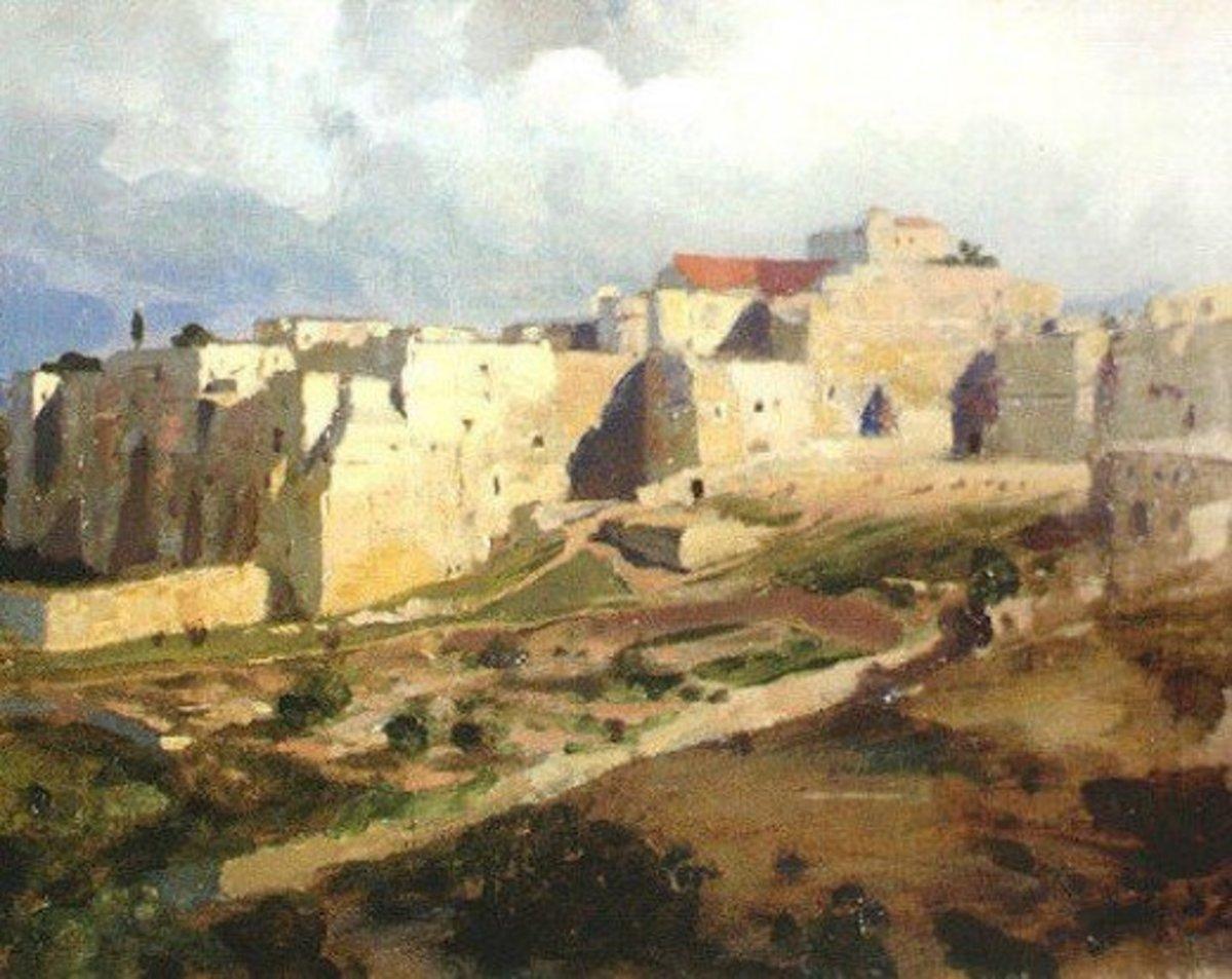 Bethlehem, Israel in Judah, 1882