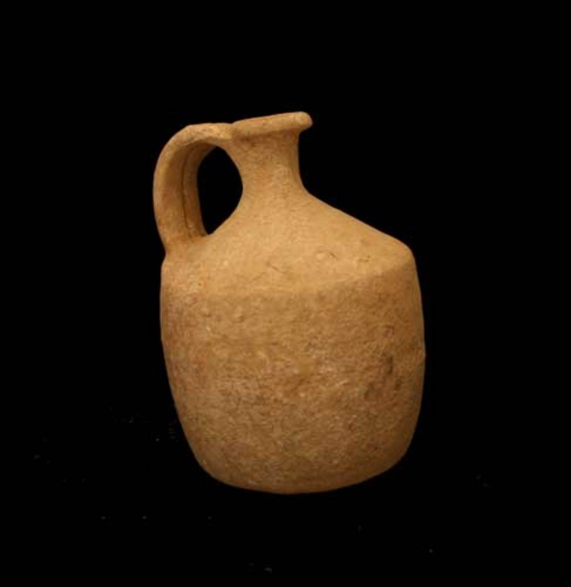 Terracotta Jug from Hebron, Israel, ca. 1900 - 1600 BCE