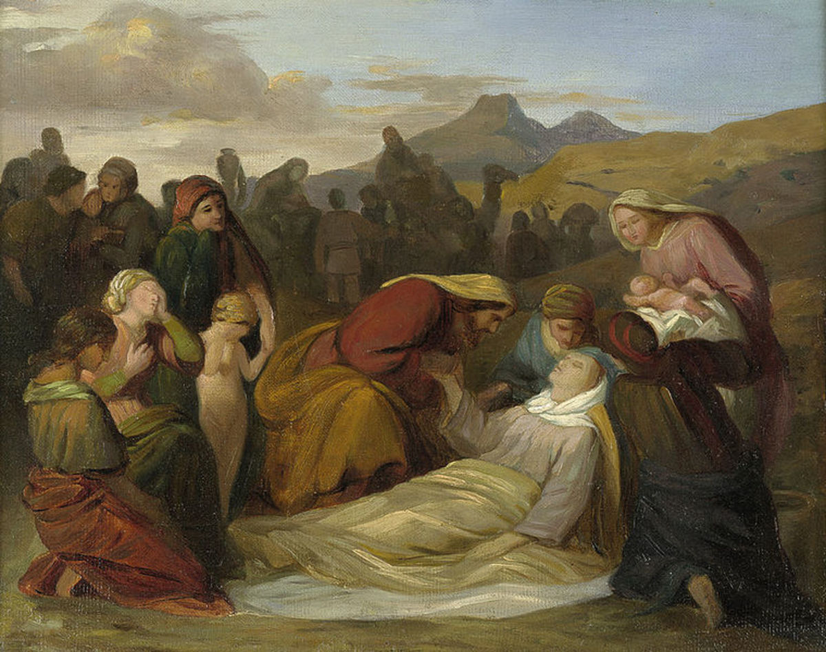 Death of Rachel After the Birth of Benjamin