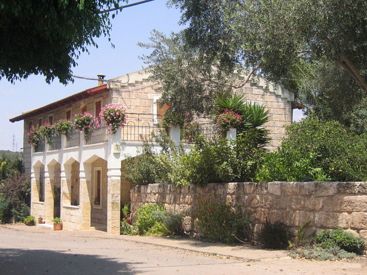 Templar Home in Bethlehem of Galilee
