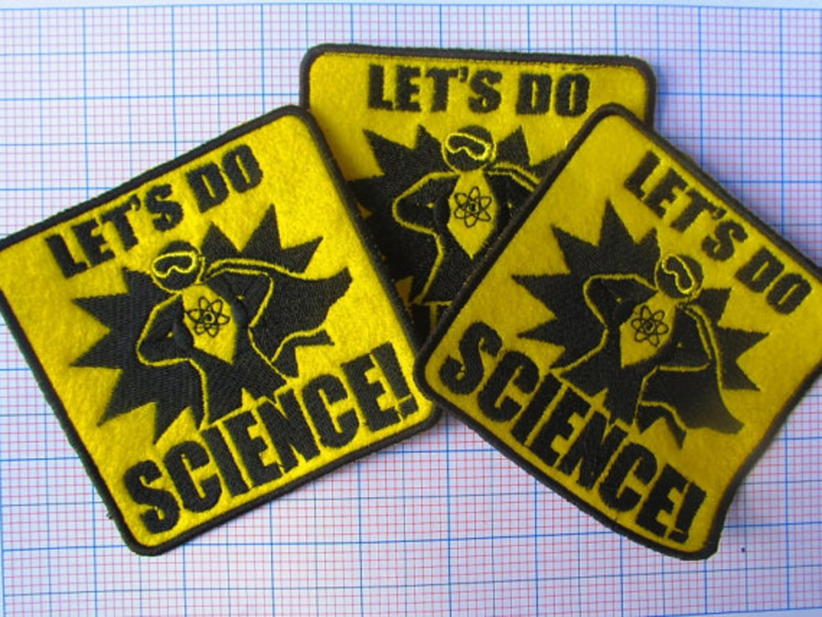 Let's Do Science! Creative patches are fun, easy, and profitable!