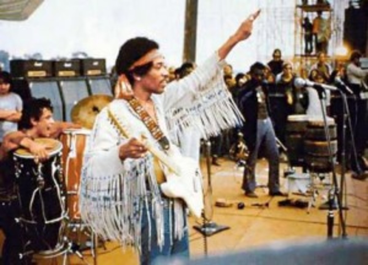 Jimi Hendrix at Woodstock-Source: http://www.wildriverreview.com/wrratlarge/?attachment_id=1400