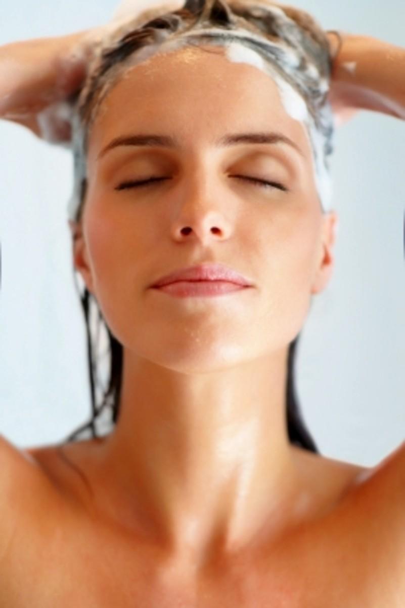Wash hair regularly