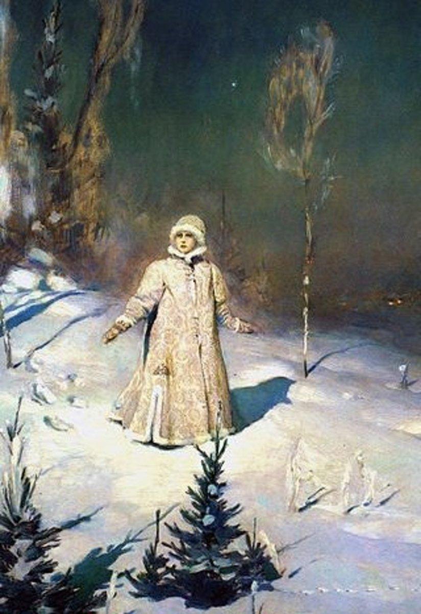 Snow Maiden (1899) by Victor Vasnetsov