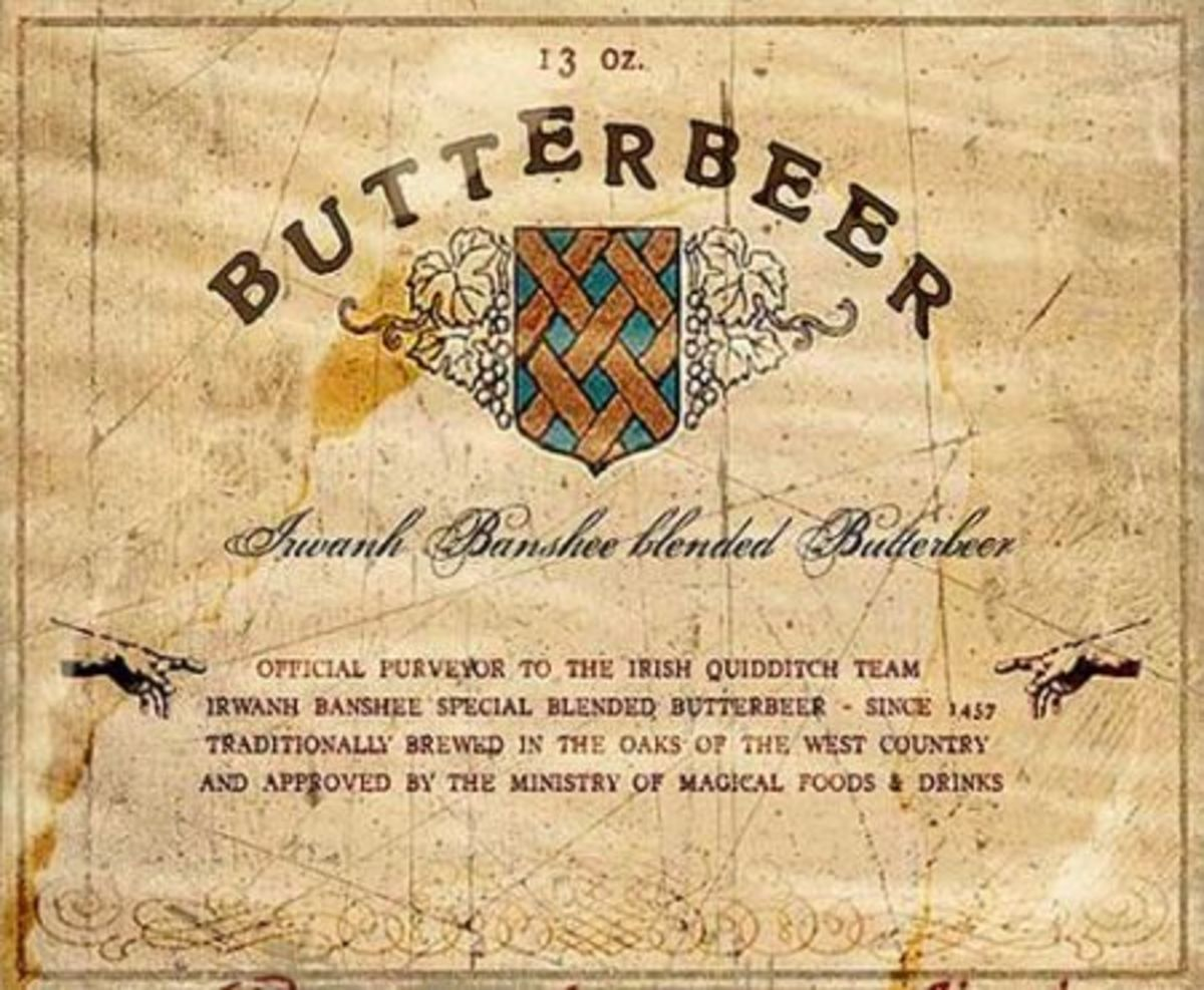 Butterbeer (Alcoholic Version) - brewed to perfection!