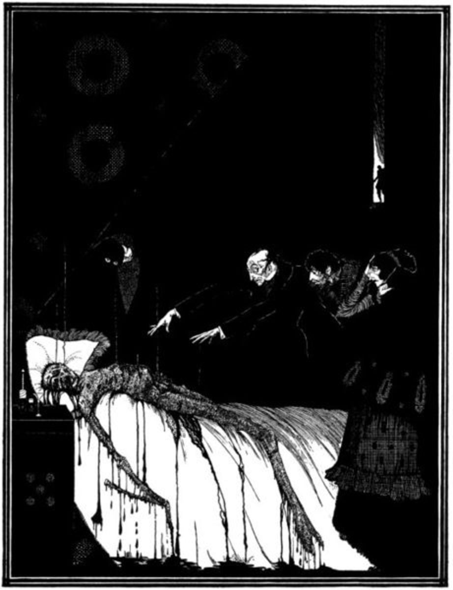 The Facts in the Case of M. Vademar Harry Clarke illustration 1919
