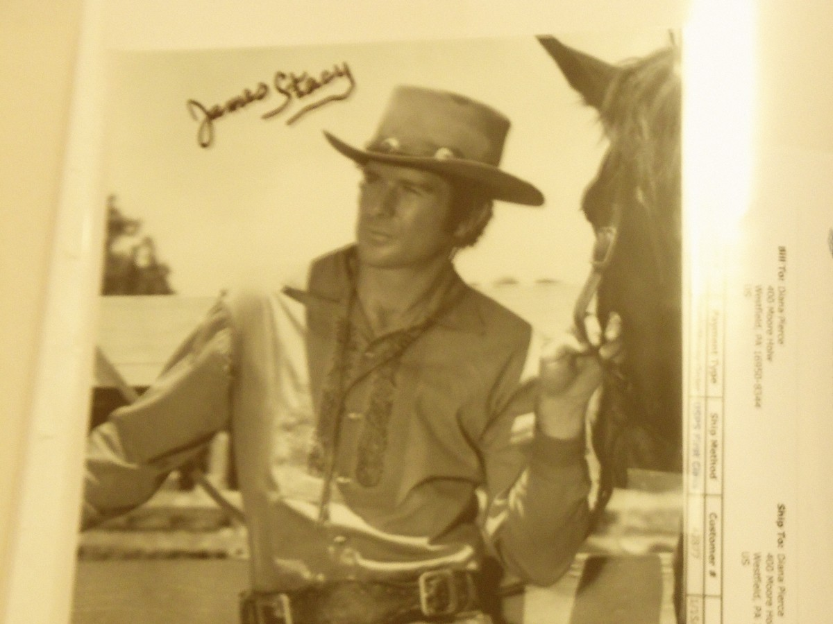 James Stacy captured his audience as Johnny Madrid Lancer on the classic western Lancer. He is another great talent often seen as a co star in various television shows and movies.