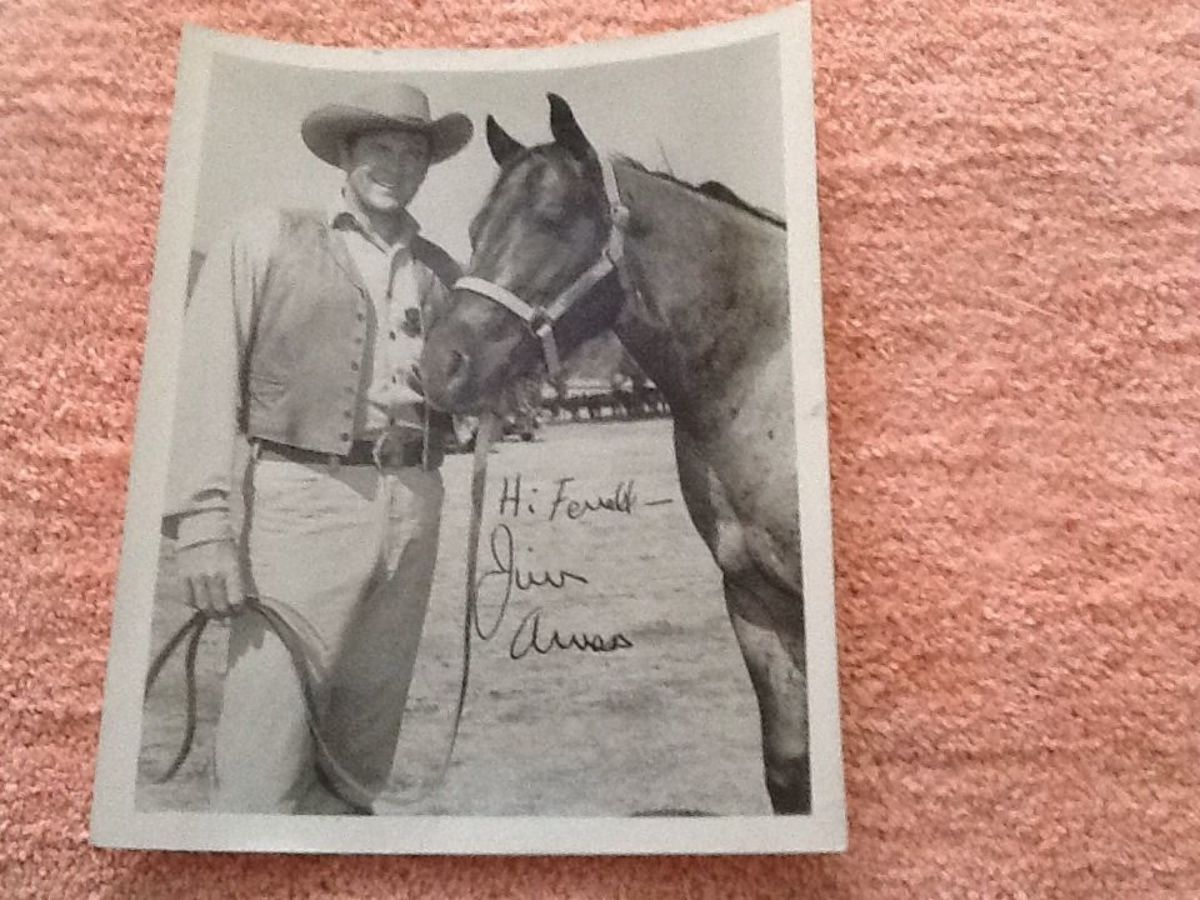 With getting great deals at auction sites I may be inspired to collect Gunsmoke autographs I thought were out of my reach. I was very happy to get this one.