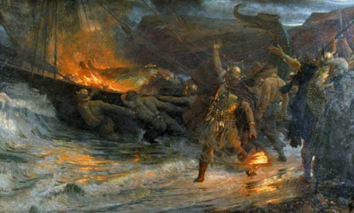 pagan-culture-in-the-burial-of-beowulf