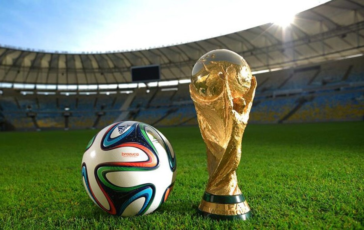 Football are decorated with different designs and patterns here is 2014 soccer world cup ball