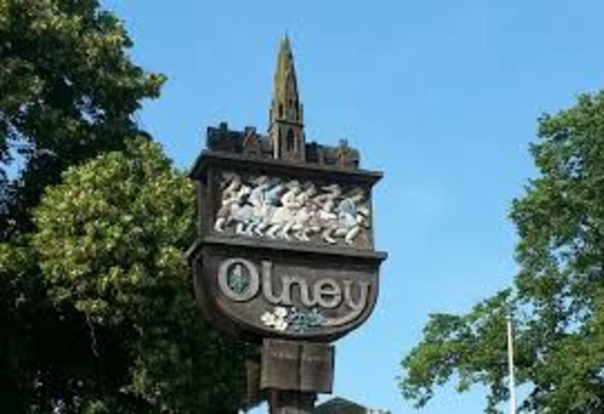 Olney - Market Town - Buckinghamshire - Home of Amazing Grace and The Pancake Race