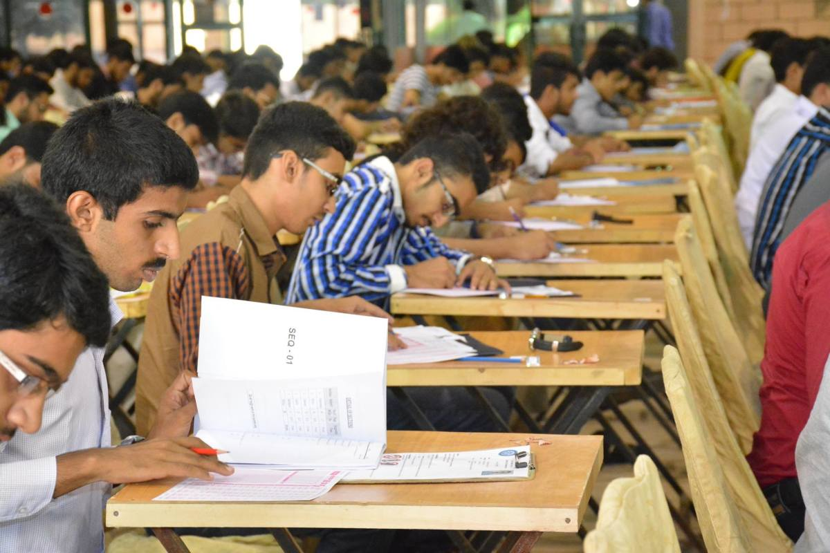 The Nust Entry Test, 2016.