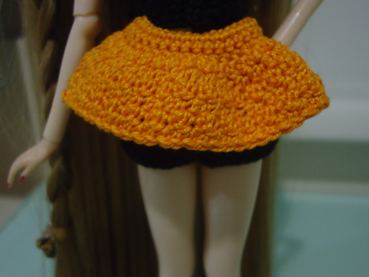 Pullip Convertible Skirt