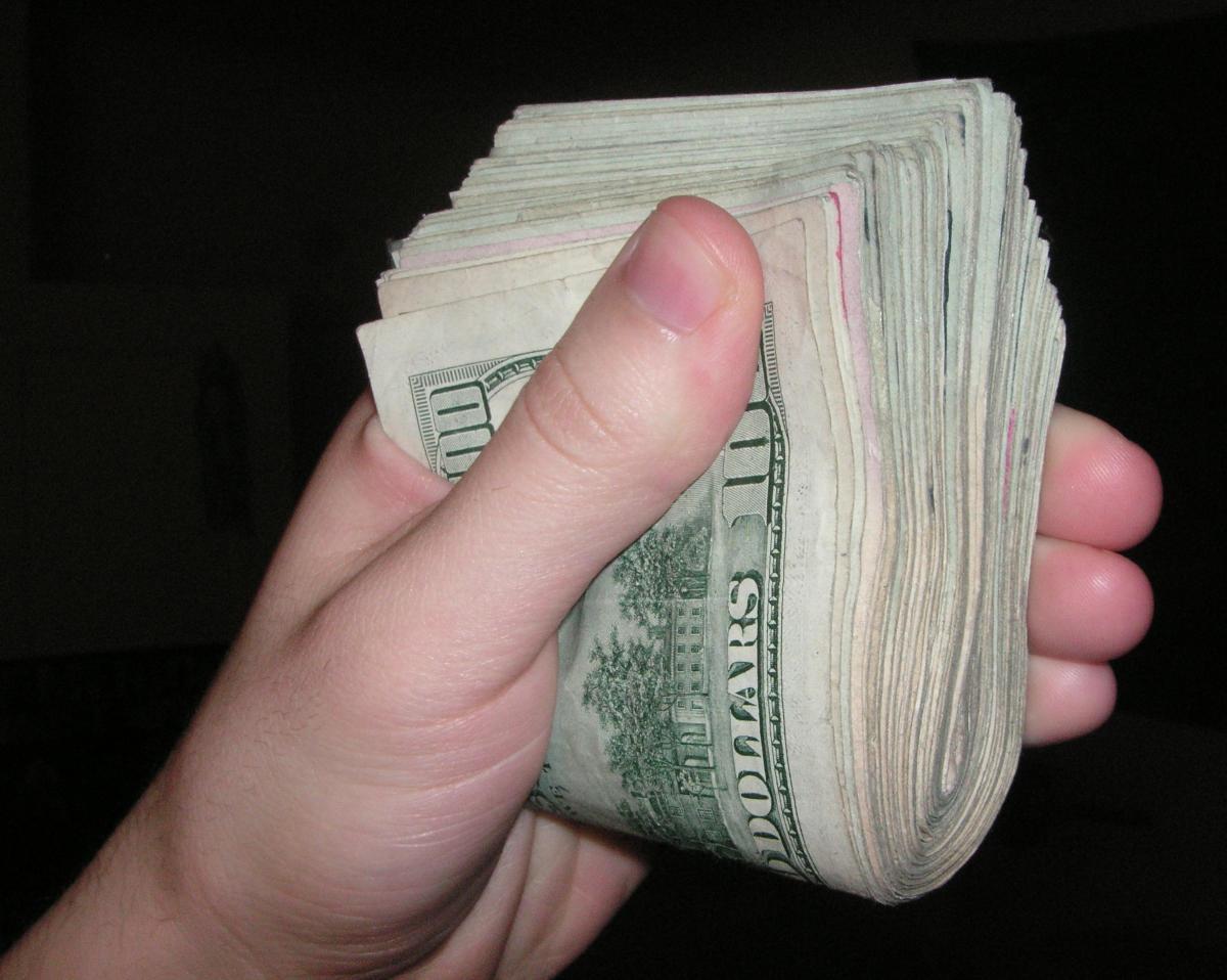 Large Amount of Cash