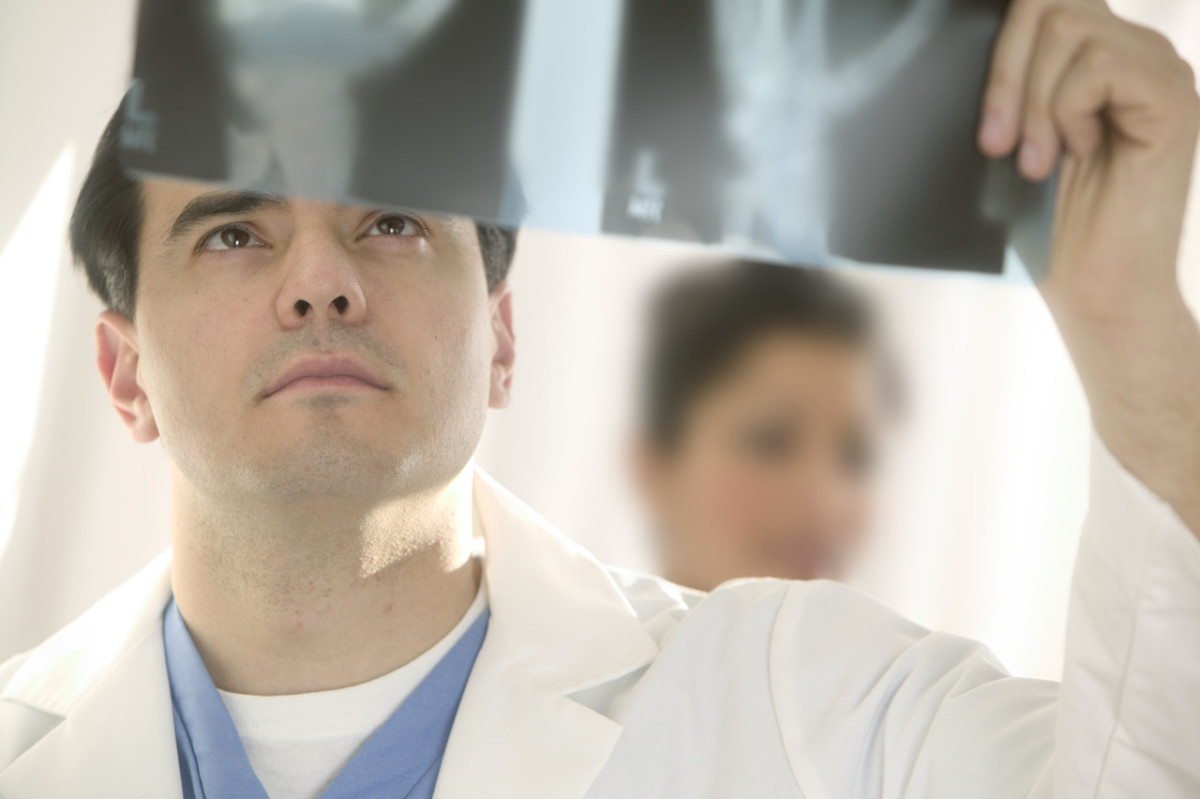 Reading The Chest X-Ray (Chest Radiography): Identifying A Normal Chest X-Ray