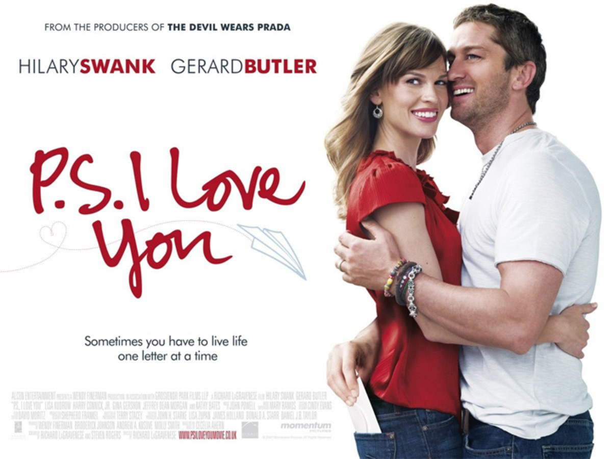 P.S. I Love You is a movie about learning to love after a tremendous loss. Gerry encourages his wife with letters from beyond the grave, pushing her to find romance without him in the world.