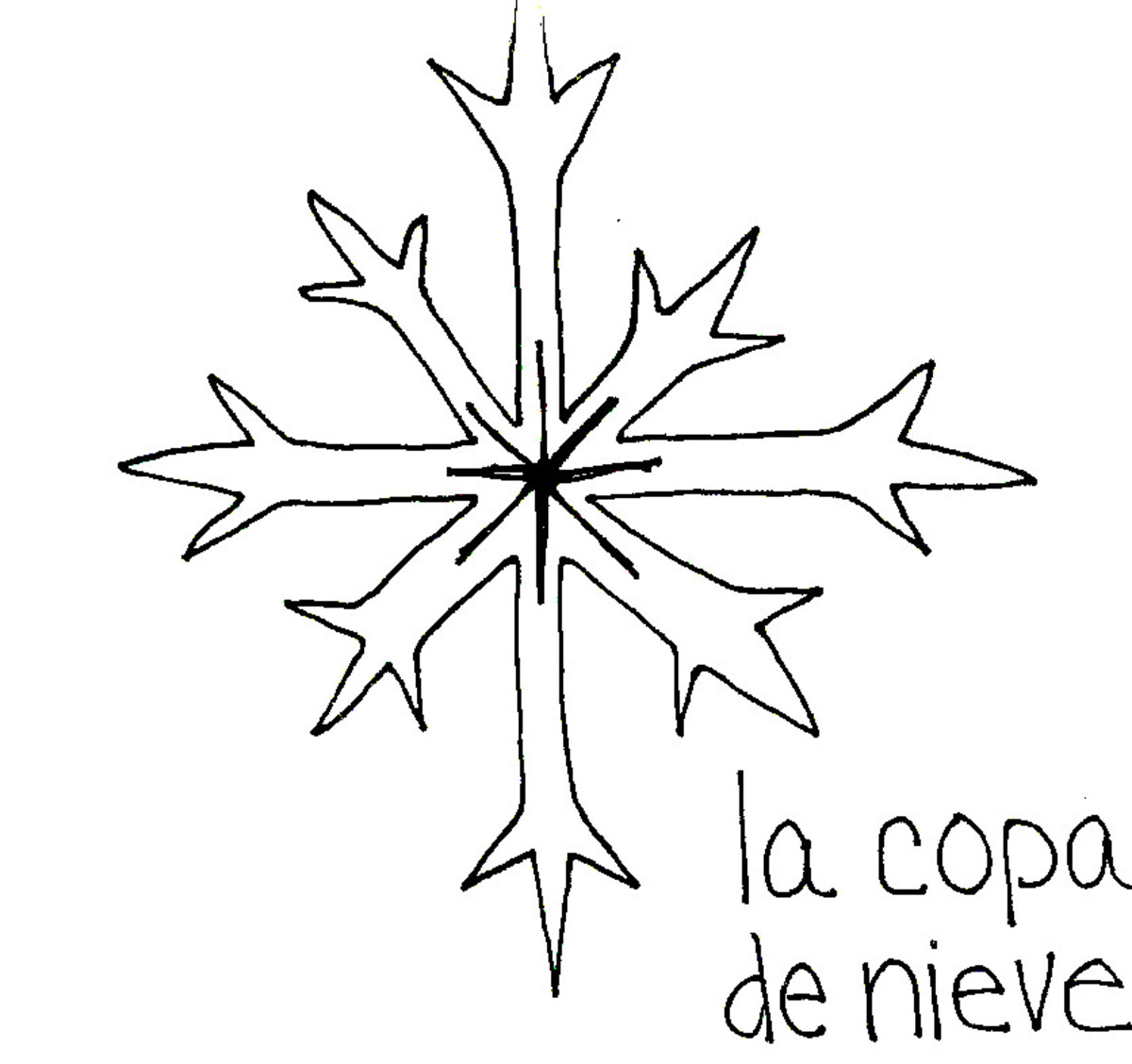 Snowflake in Spanish