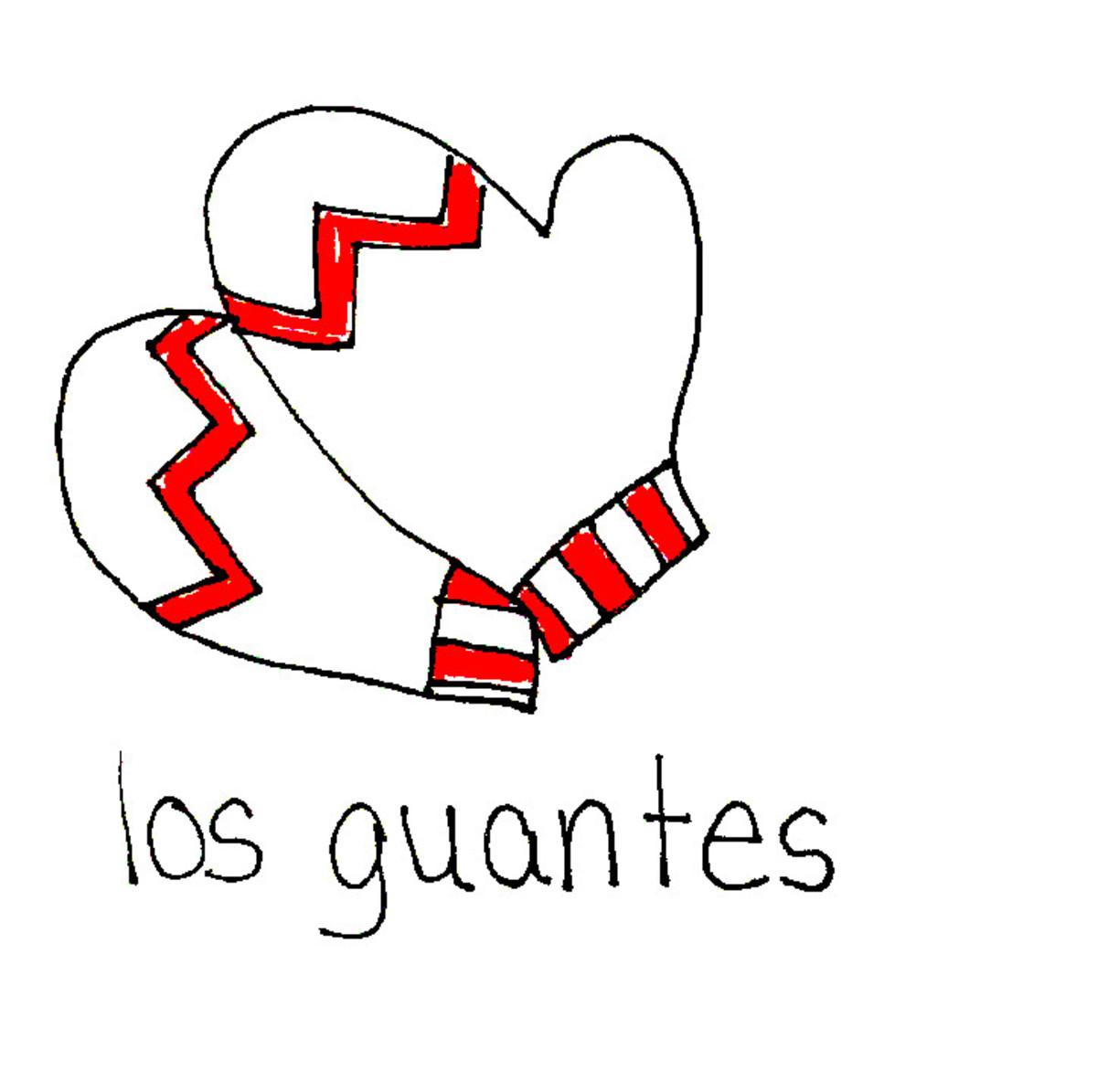Gloves in Spanish