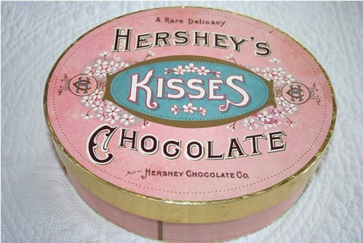 Hershey's Kisses box