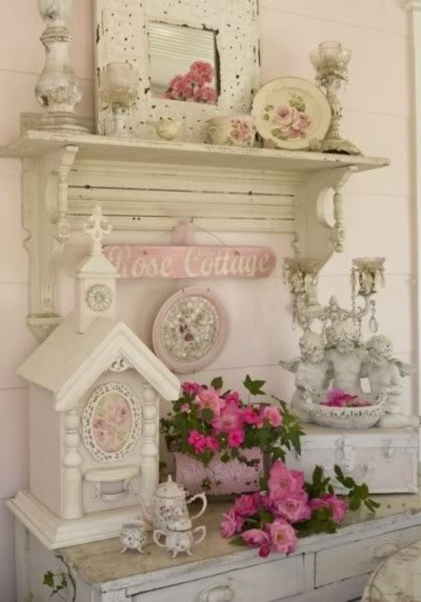 Nicely shabby chic