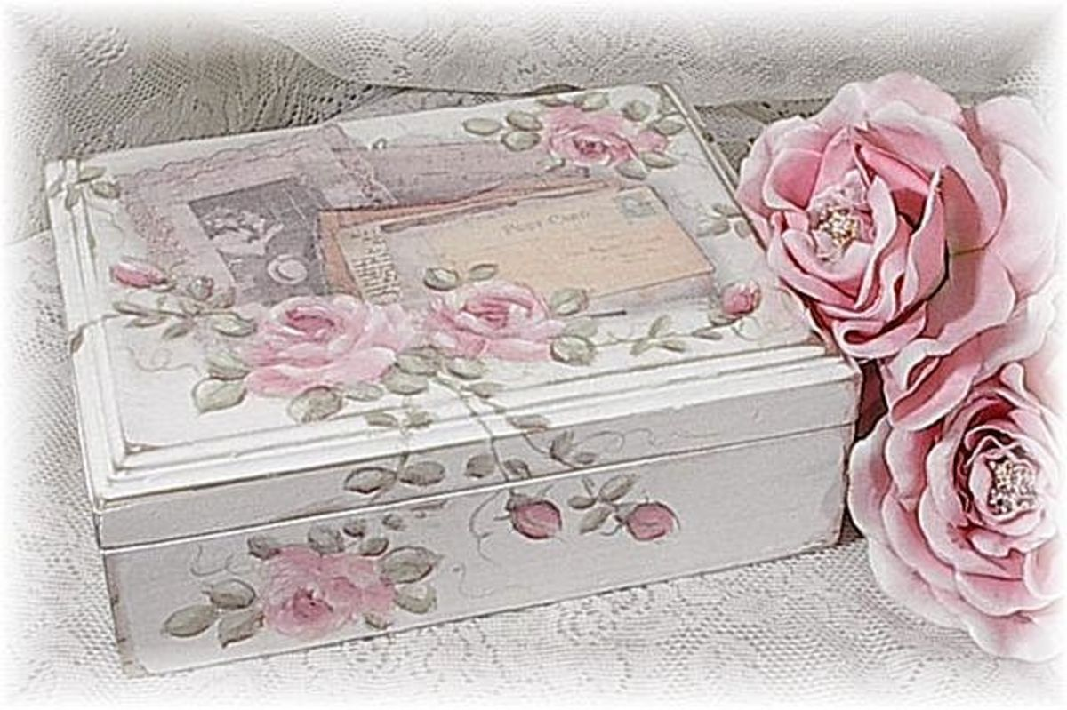 Altered Keepsake Box, Memory Photo Box