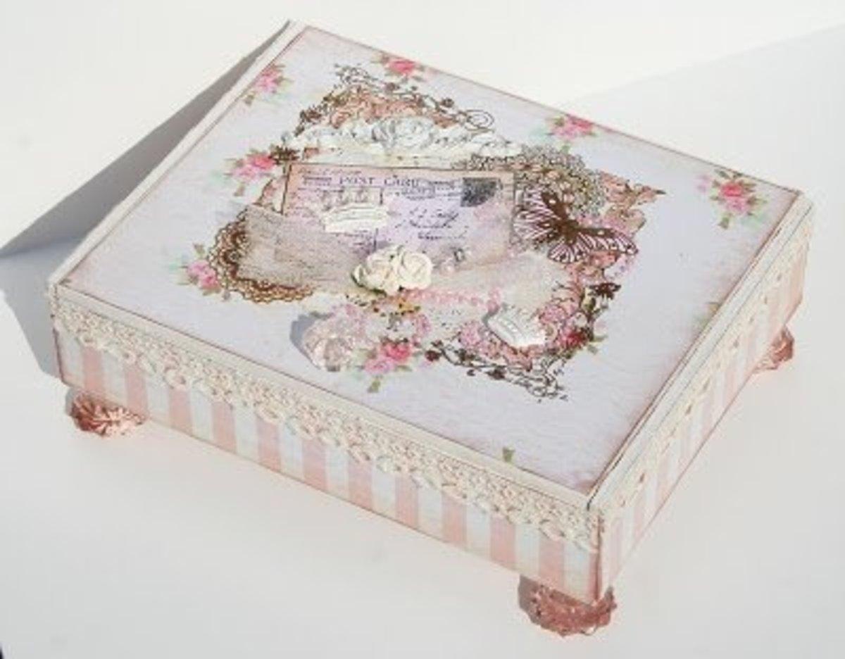 cigar box, multi-medium