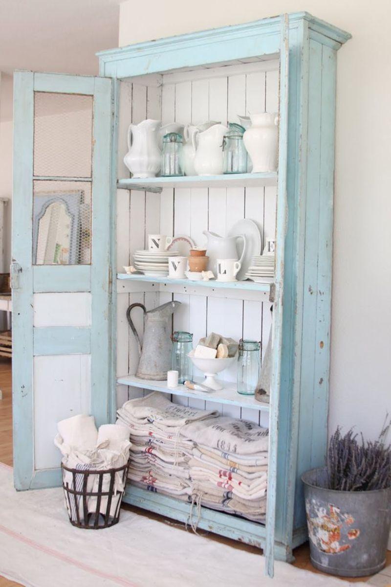 Weathered cupboard