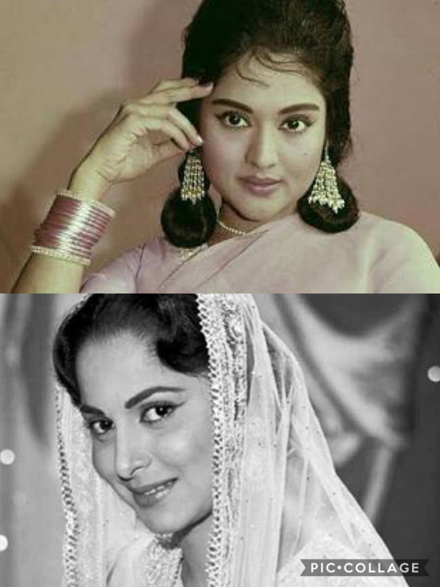 Vyjayantimala and Waheeda Rehman