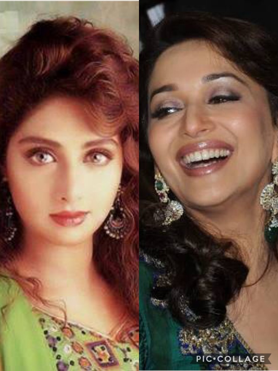 Sri Devi and Madhuri Dixit -- Beauty, talent and dancing divas