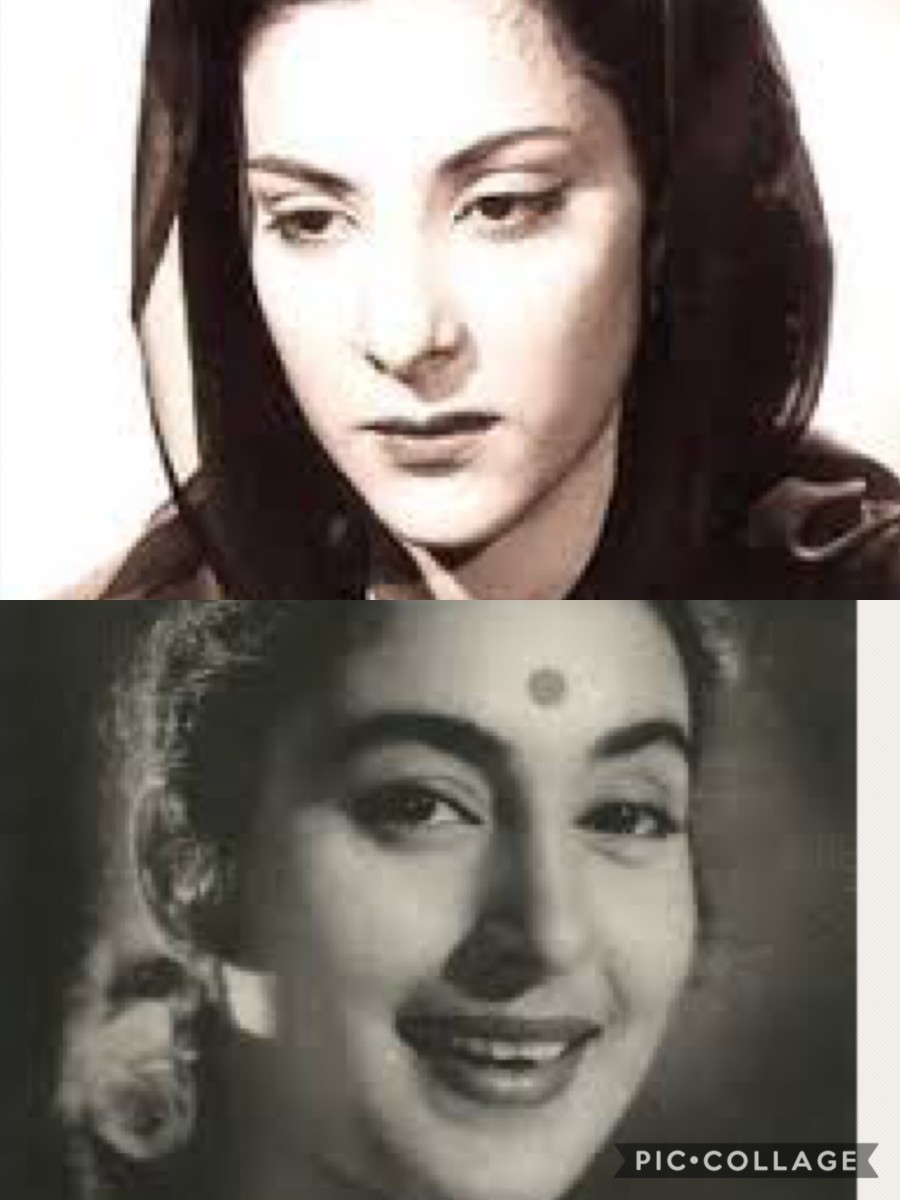Powerful performers--Nargis and Nutan
