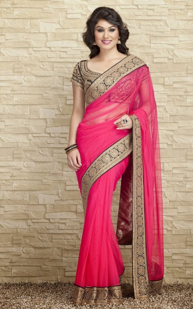 Lovely Pink Saree