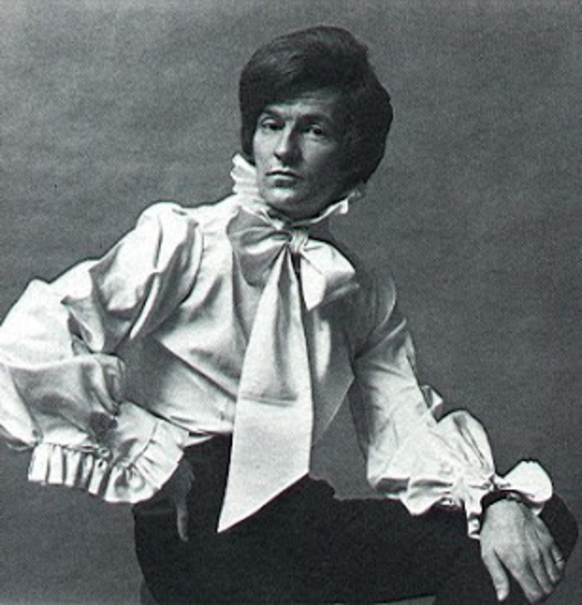 Patrick Lichfield was influential in the 'Peacock Revolution' a fashion style for men 1963 to 1973