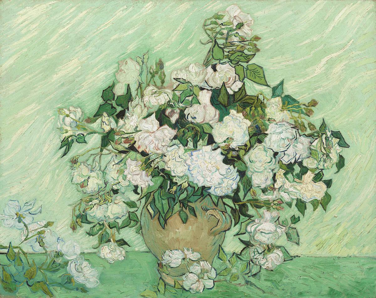 Roses by Van Gogh, 1890