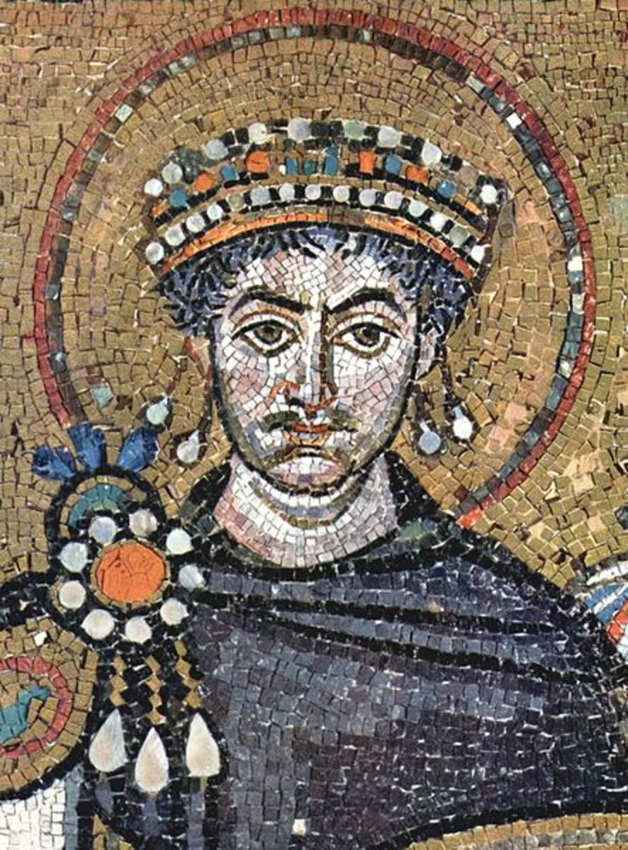 Byzantine Emperor Justinian I sought to reconquer the lost Western half of the Empire, and largely succeeded.