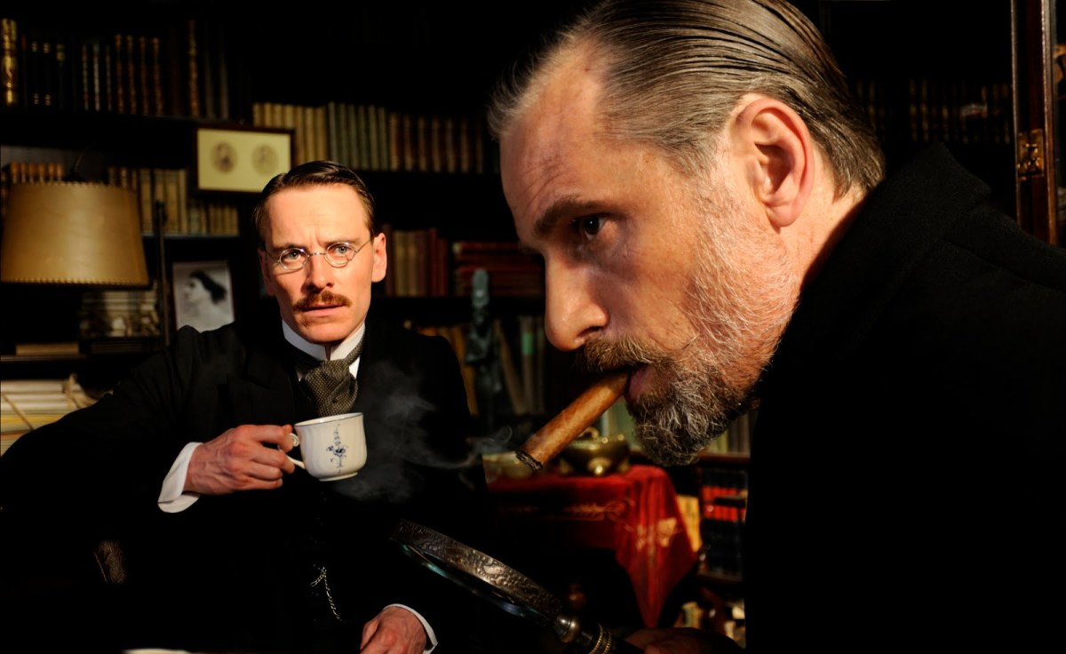 Still shot from the film, A Dangerous Method