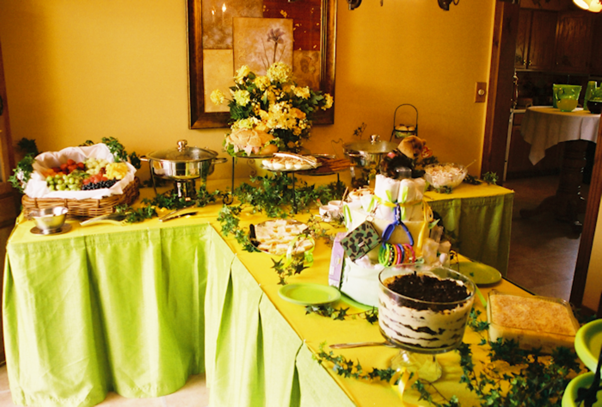 Overall view of the table