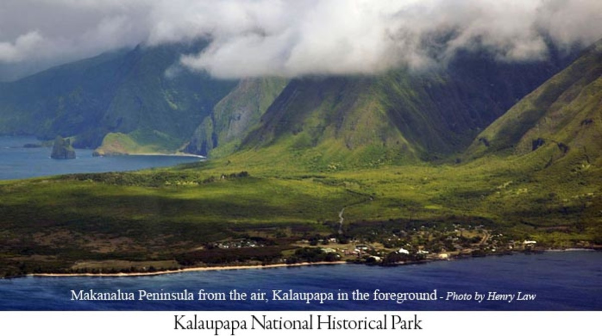 Today Kalaupapa is a National Historical Park operated by the U.S. National Park Service