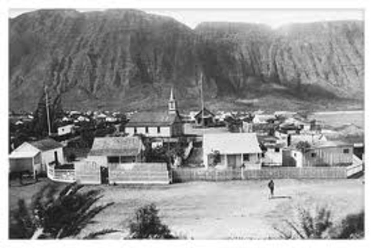 Kalaupapa became a self-contained community with churches and small businesses.