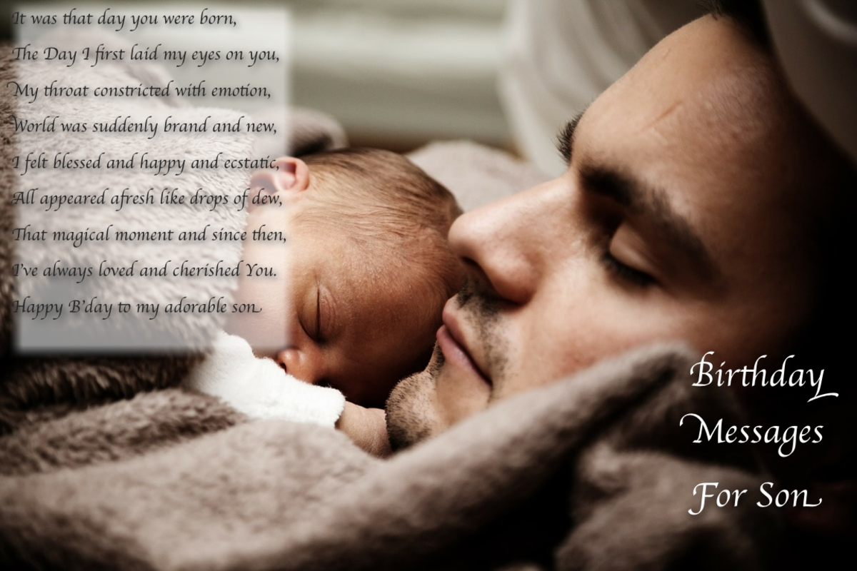 Birthday Quotes For My First Born Son: Quotes & Poems Inspiring, Funny