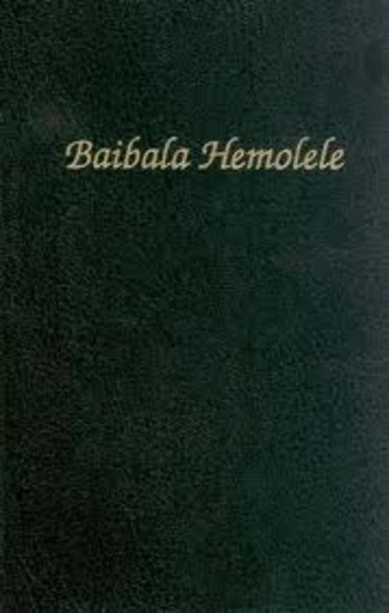 The Hawaiian Bible - Baibala Hemolele. Native Hawaiians had been overwhelmingly converted to Christianity by the mid-1800ʻs.