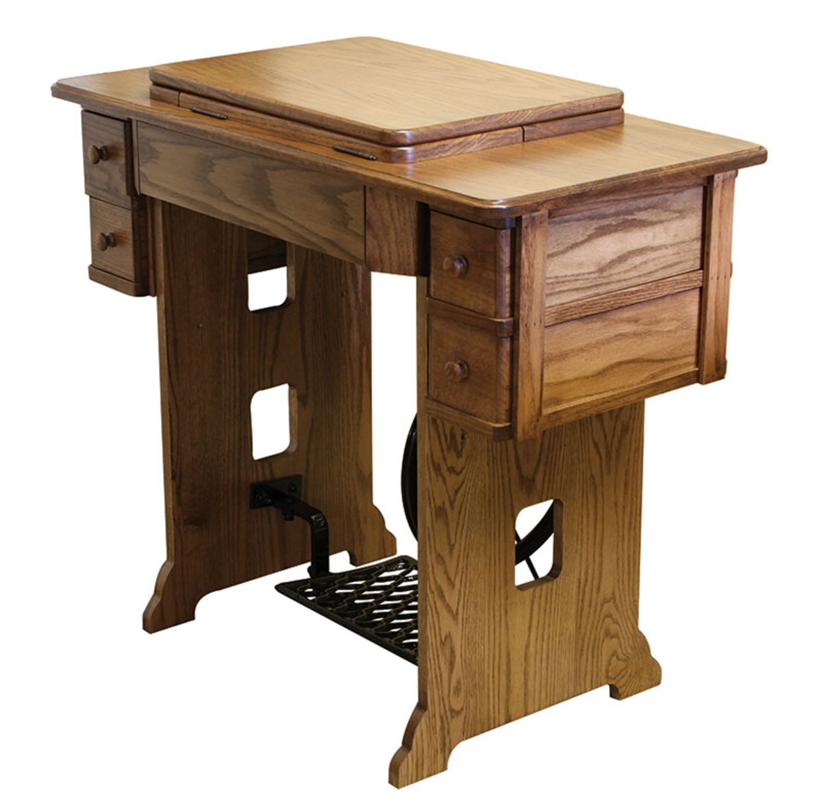 Heritage Treadle Sewing Cabinet