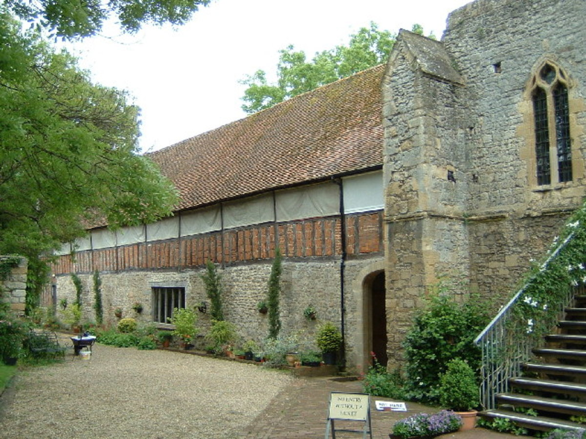 Abingdon Abbey - burial place of Mary and Margaret Plantagenet