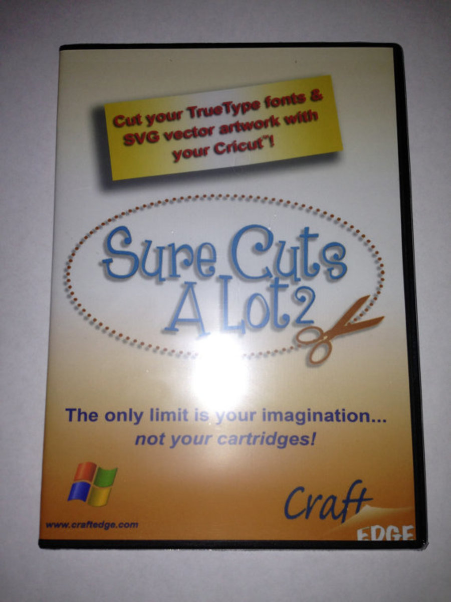 How To Use Sure Cuts A Lot 2 With Your Cricut Machine Hubpages