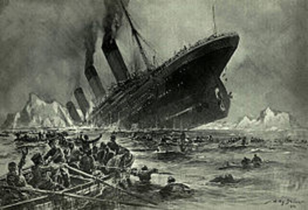 When the Titanic is going down around you, it takes something a little bigger than a shot glass to bail it out with.