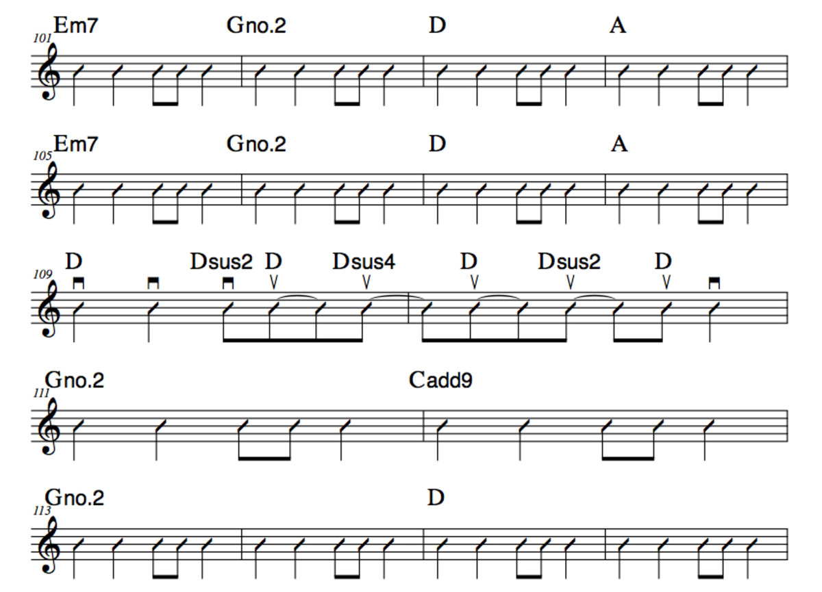 how to play strumming patterns on guitar