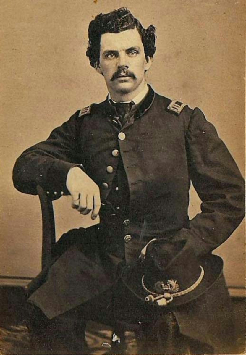 William Richard Middleton: Captain in the 50 N.Y. Engineers, in company M for the Union Army.