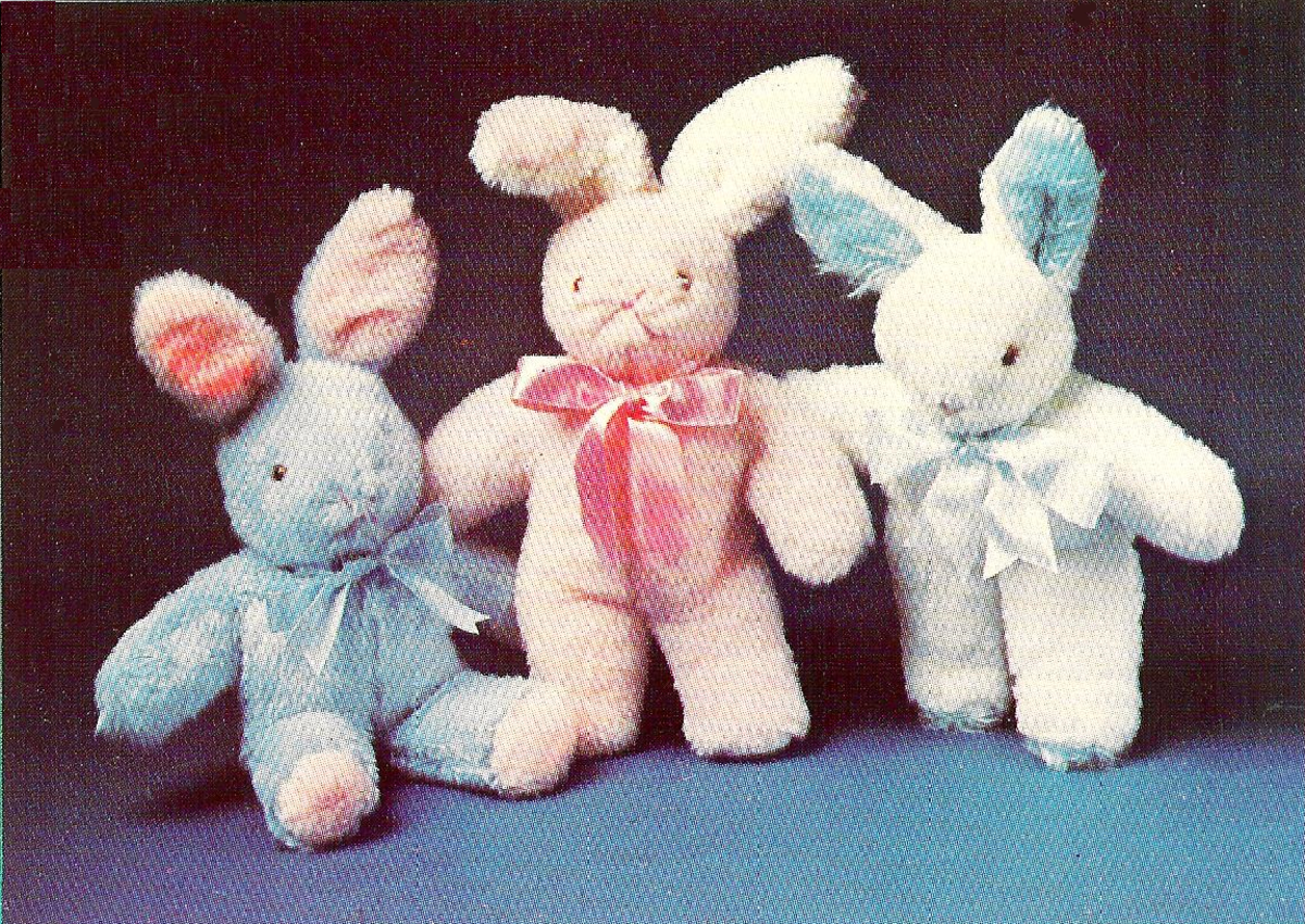 Soft Stuffed Rabbits