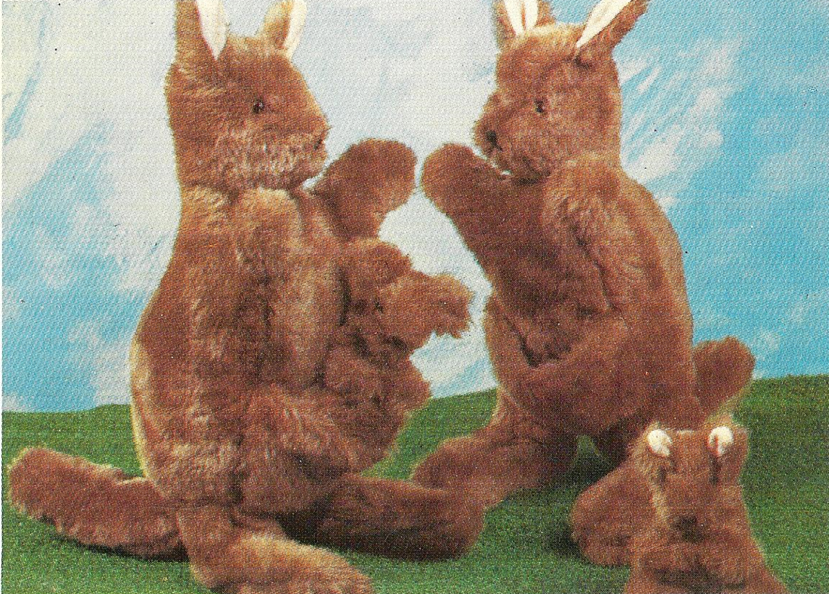 Soft Stuffed Kangaroos