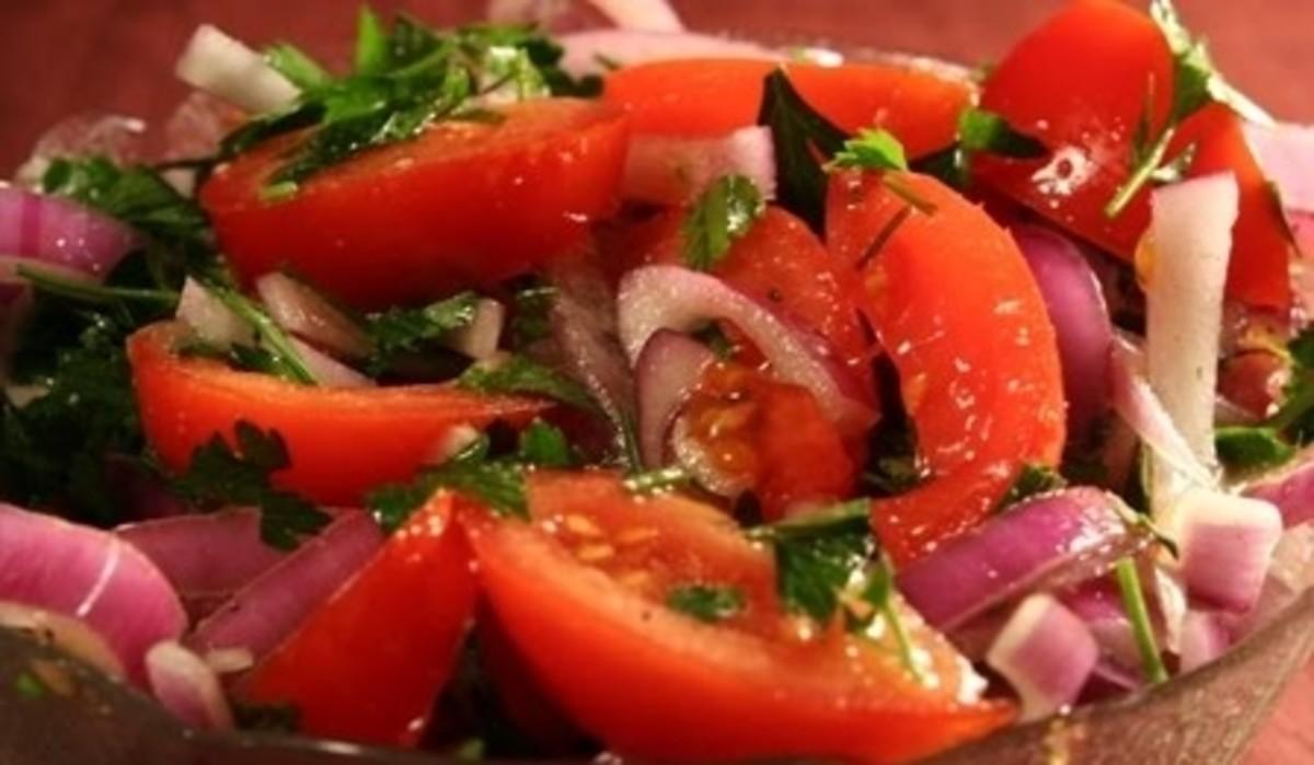 Sweet n Spicy Tomatoes