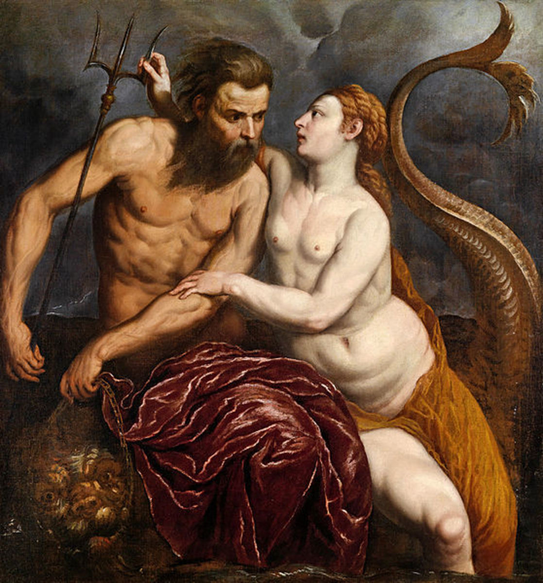 Neptune and Amphitrite by Paris Bordone (1560)